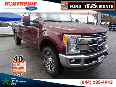 New 2017 Ford Super Duty F-350 SRW Lariat With Navigation & 4WD