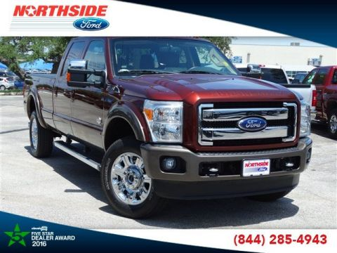 Pre-Owned 2015 Ford Super Duty F-350 SRW King Ranch 4WD