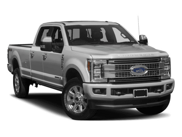 New 2017 Ford Super Duty F-350 SRW Platinum With Navigation & 4WD