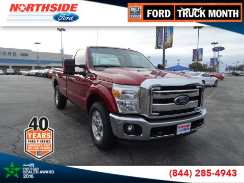 New 2016 Ford Super Duty F-250 SRW XLT RWD Regular Cab Pickup