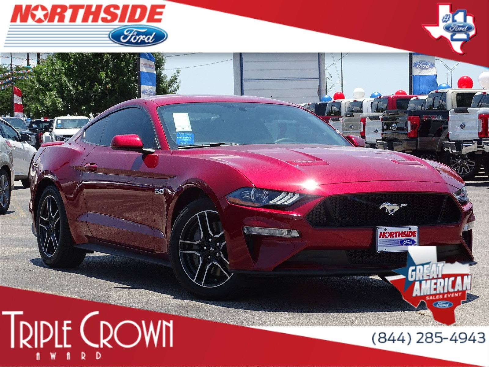 New 2018 Ford Mustang GT 2dr Car in San Antonio