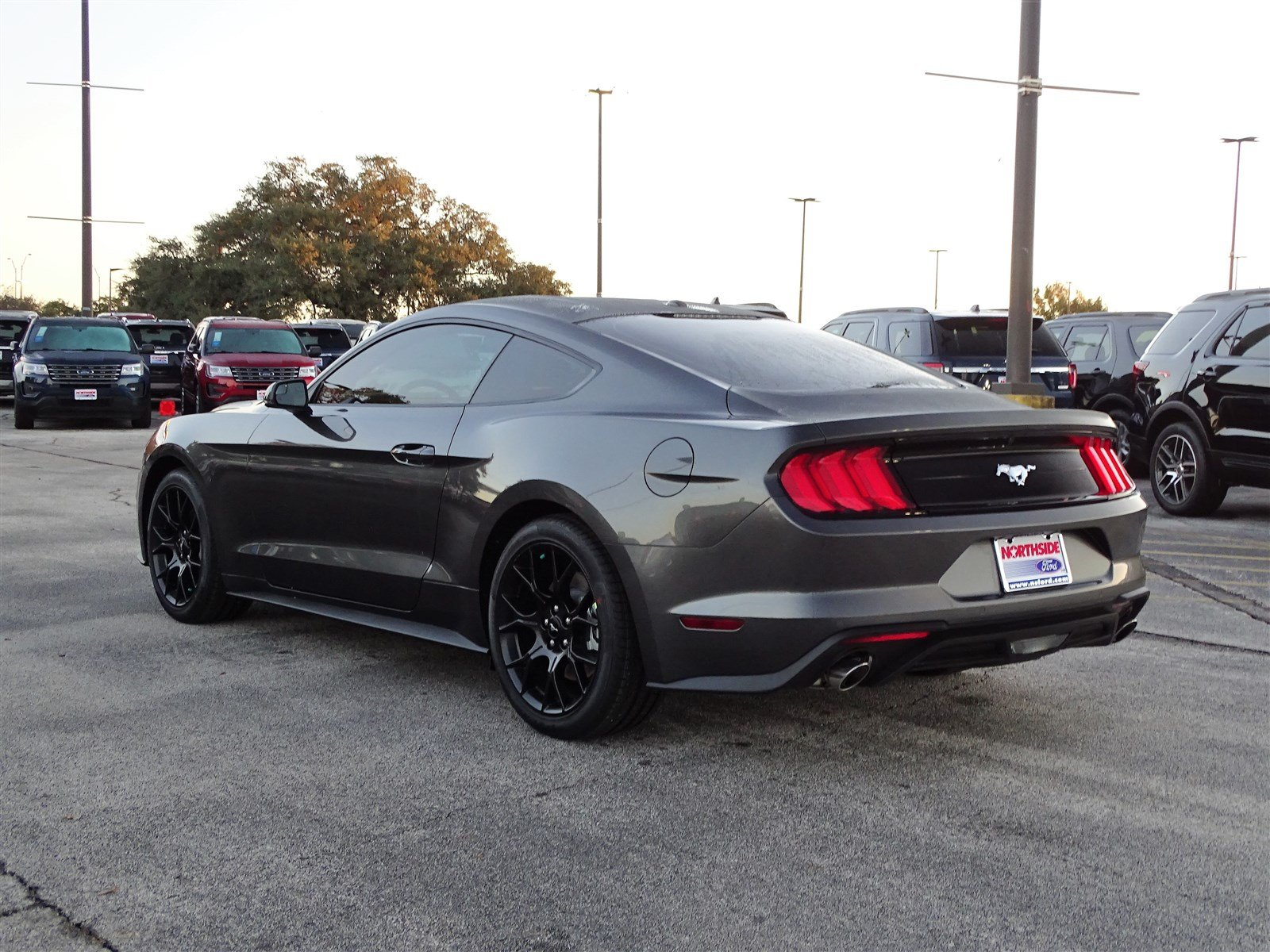 new 2018 ford mustang ecoboost premium 2dr car in san antonio 113922 northside ford. Black Bedroom Furniture Sets. Home Design Ideas