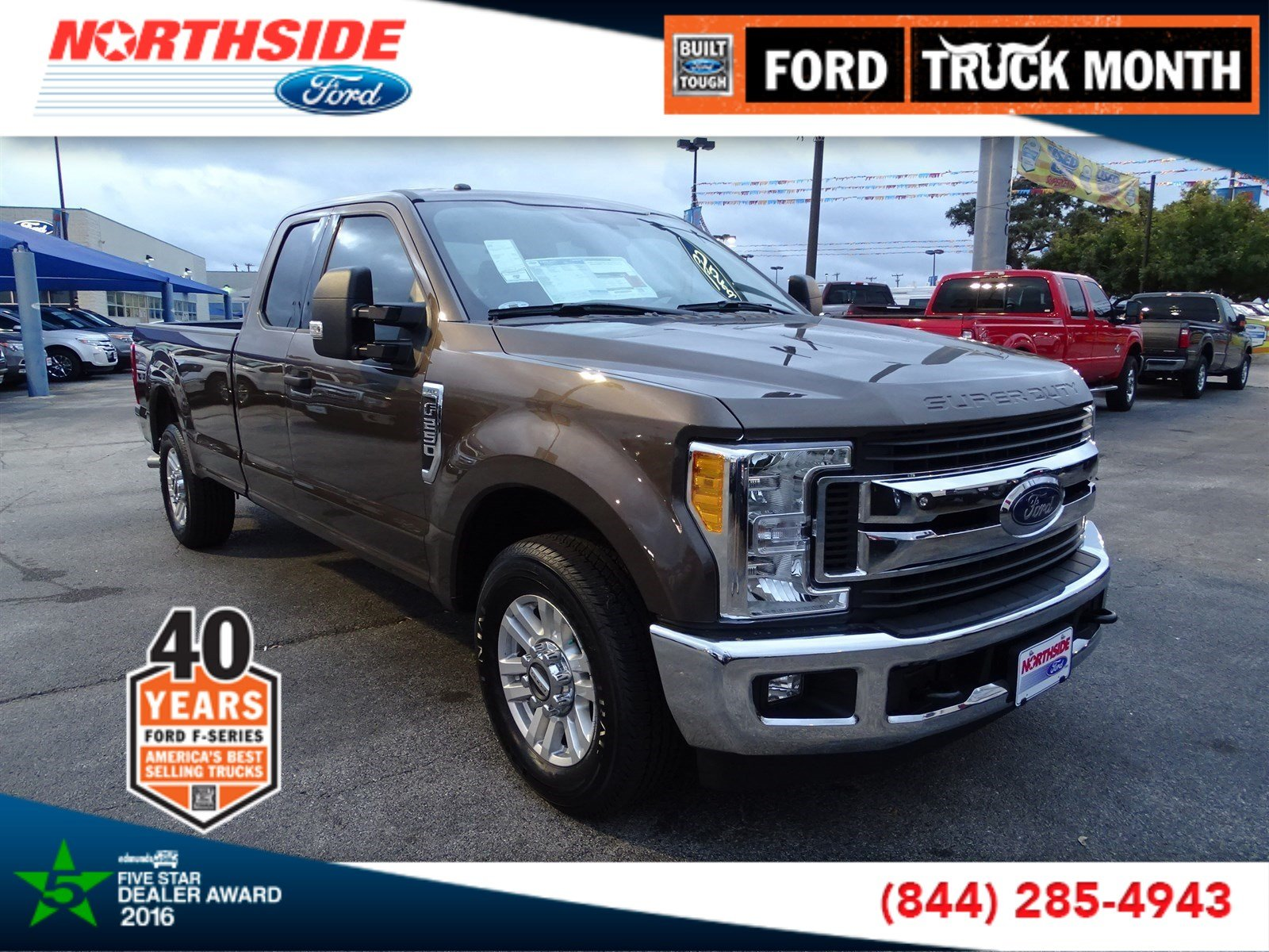 New 2017 Ford Super Duty F-250 SRW XLT