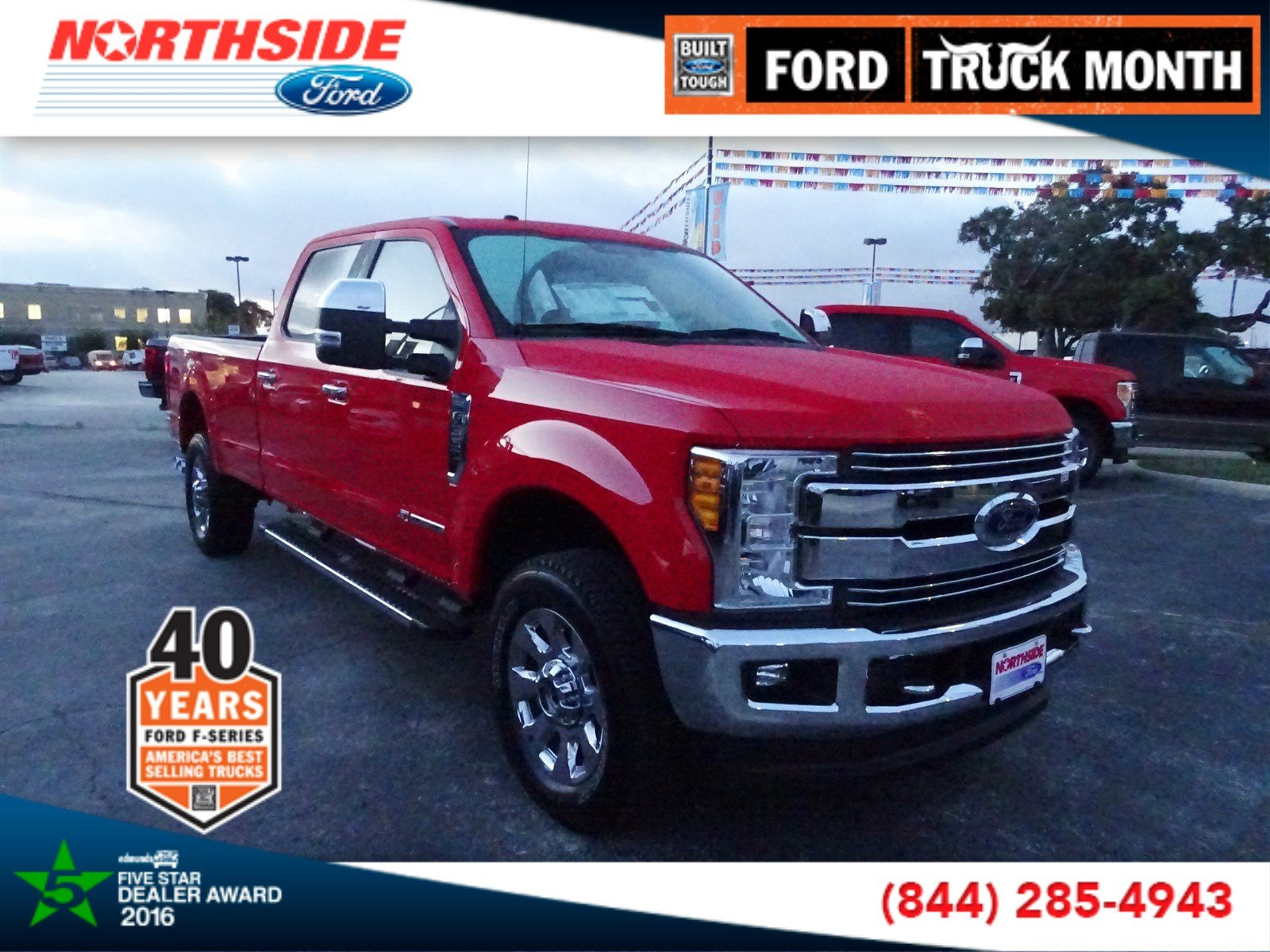 New 2017 Ford Super Duty F-350 SRW Lariat