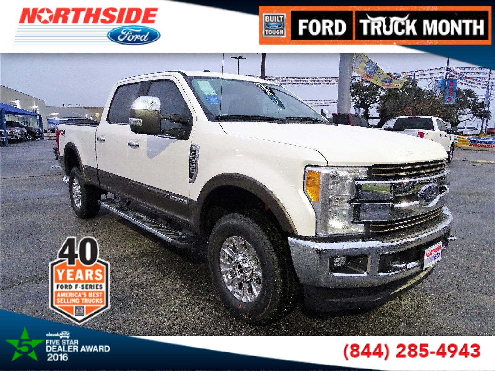 New 2017 Ford Super Duty F-350 SRW King Ranch