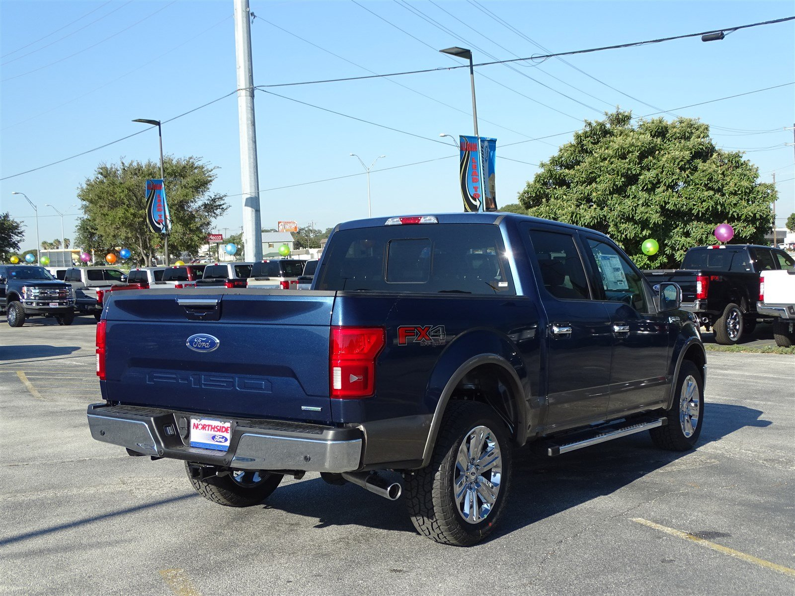 New 2018 Ford F 150 Lariat Crew Cab Pickup In San Antonio