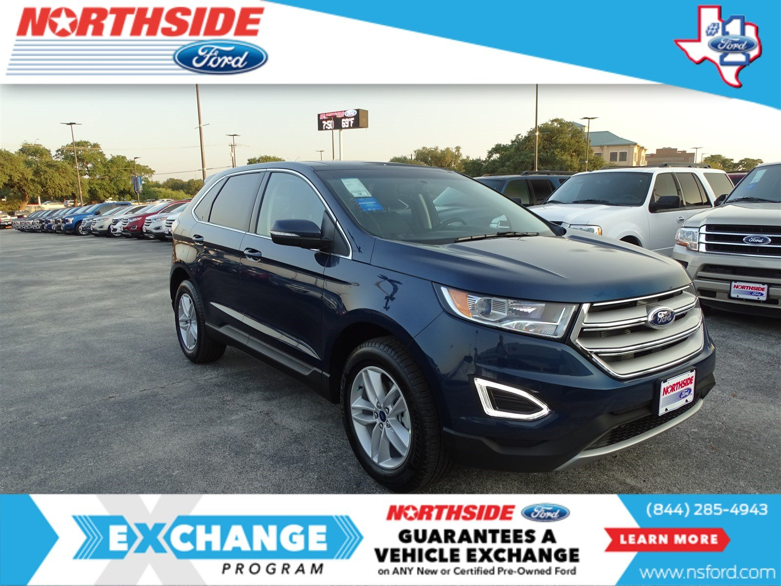 new 2017 ford edge sel sport utility in san antonio c54358 northside ford. Black Bedroom Furniture Sets. Home Design Ideas