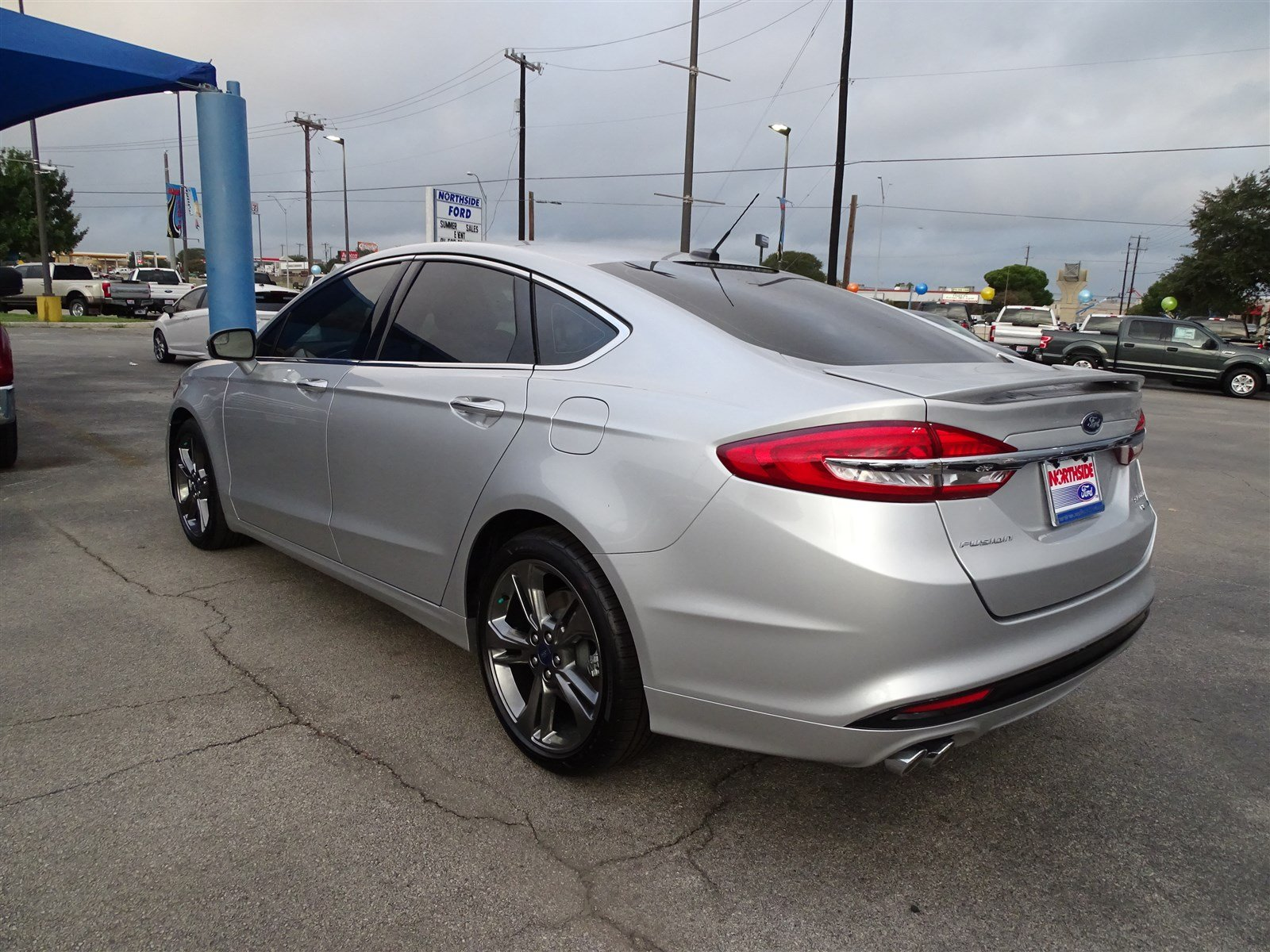 new 2018 ford fusion sport 4dr car in san antonio 109469 northside ford. Black Bedroom Furniture Sets. Home Design Ideas